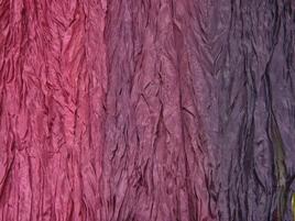 Seidentuch violettverlauf
