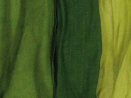 Wolle- Seidentuch gruenverlauf