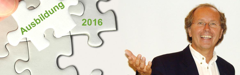 Neue Ausbildung in 2016 mit Christian Echter