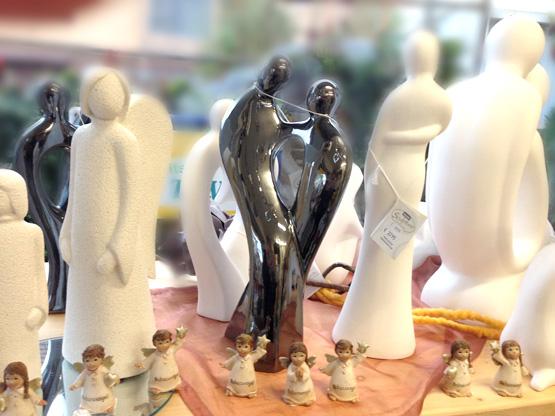 Skulpturen nah